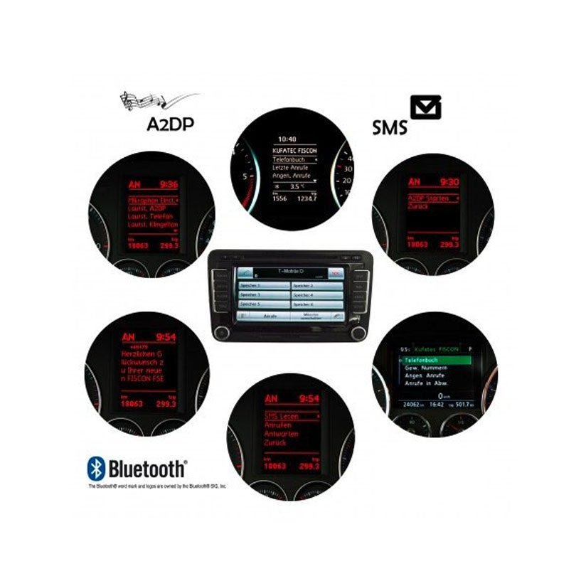 rns systems installation of bluetooth fiscon plus by kufatec. Black Bedroom Furniture Sets. Home Design Ideas